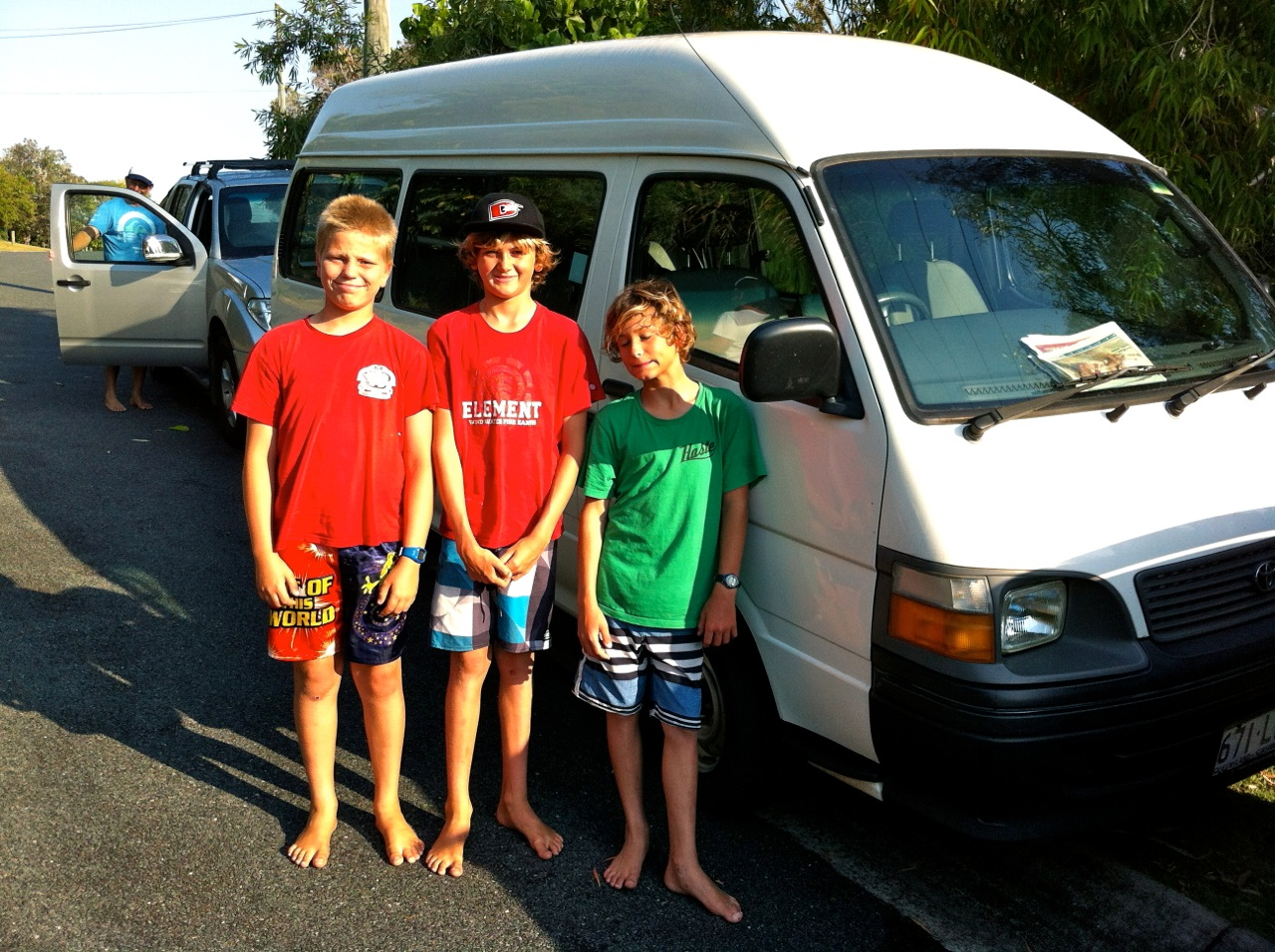 Surf coaching for kids